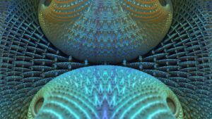 SOFT BLUE FRACTAL by Topas2012