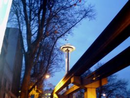 Track to the Space needle 2 by VVraith