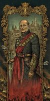Lord Tywin Lannister by bubug