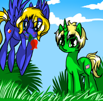 Pony France and Pony Iggy  s moment.....RUINED by PrincessCelestia908