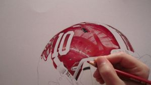 AJ McCarron work in progress by PriscillaW