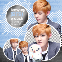 Taehyung (V) PNG Pack by Shawol6ss