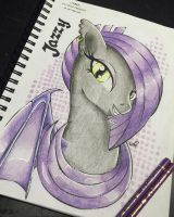 Jazzy, sketchbook (anno 2016) by Itstartswithapencil