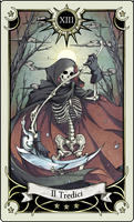 Tarot card 13- the Death by rann-poisoncage