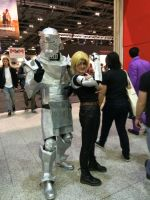 Edward and Alphonse Elric by Marshmellowygoo