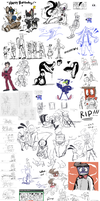 THATS A HECK LOT OF DOODLES part 6 by stepswitcher