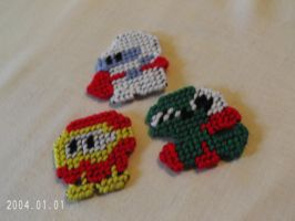 Dig Dug Magnet Set by agorby00