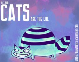 Cats are the lol by MarkP0rter