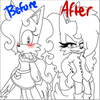 Before and After by Cosmo-Creations