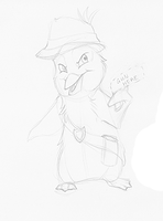 Penguin Cop - WIP by bawky