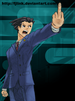 Phoenix Wright -COLOR- by FJLink