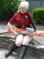 Hellsing: Seras Victoria cosplay by LittleMerle