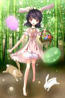 Happy Easter by elaphine