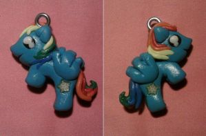 My little pony pendant fimo by bimbalove81