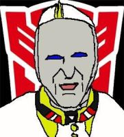 Autobot Pope Francis by ZhaneAugustine