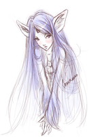 Unicorn sketch by So-naa
