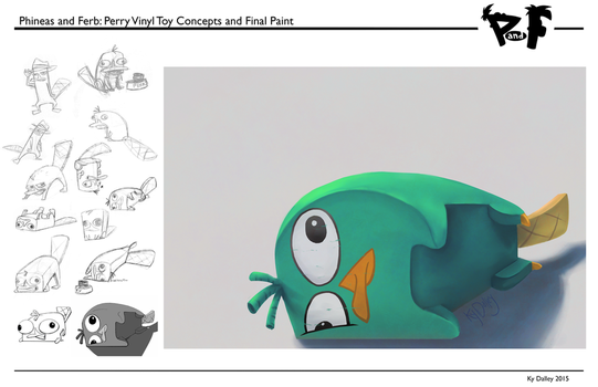 Perry Toy Design by AugustRaes