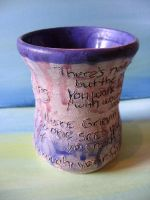 Poem on a cup 2 by meltedcrayons20