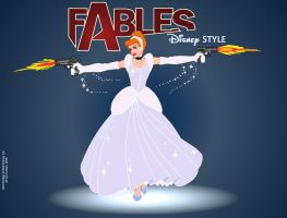 Fables - Disney style - Cenerentola by FaGian