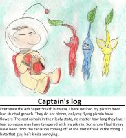 Olimar's log: pikmin not growing by kingofthedededes73