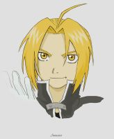 Edward Elric colored by Annastar