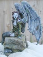 Gargoyle Girl by goddessartist
