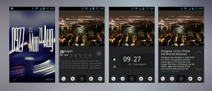 HTC Desire City Lights by Geordie-Boyo