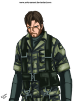 Naked Snake by Anko-sensei