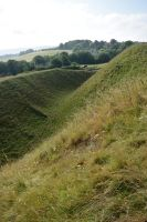 DSC 0148 Old Sarum Hill Fort 7 by wintersmagicstock