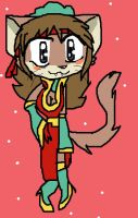 Sall as a Cat by PowderPuffBunny