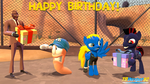 Birthday wishes to ALMarkAZ and ElwisFromPoland by TBWinger92