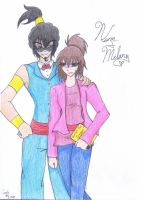 Melany Turner and Norm by fer-sure-baby