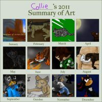 2011 Summary of Art by Colliequest