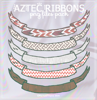 Aztec Ribbons .png by MermaidTropics