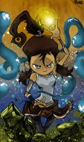 The Legend Of Korra by kraola