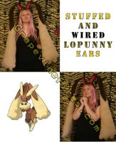 Lopunny Fleece Cosplay Pokemon by HatcoreHats