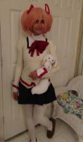 Madoka School Uniform (My wig came) by Gubreez