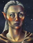 Elven Lady by Virtuxa