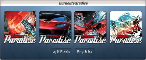 Burnout Paradise Icon Pack by Th3-ProphetMan