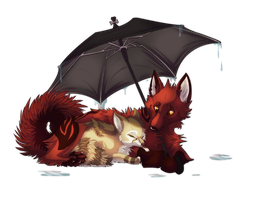 Rainy Days by Foxiful