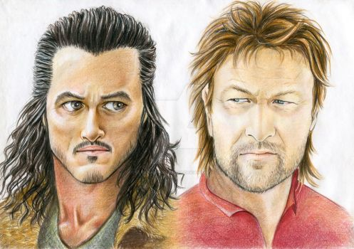 Bard and Vimes: one character with two faces by UlyanaShkuratova