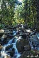 White Water and Rocks by mjohanson