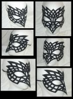 Ornamental Raven - Mask by Ganjamira