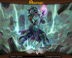 Moonga - Black Shaman by moonga