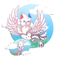 PKMNation :: Fairy Owl by CherryBuns