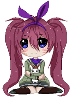 [C] Pixel Doll: Xhoshimi-chan //Animated by KimmyPeaches