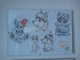 Die Badges von BeccaRedpanda by ChrisTheCat26