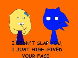 Slap your face :ID: by miss-glam-flipnote