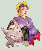 Morty and Haunter by Ellidena
