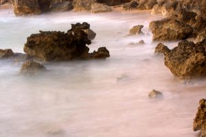 Misty Sea by cathy001